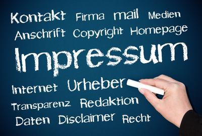 Deutsch Lernen Online mit Impressum
